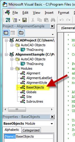 civil4d com » Setting up a Civil 3D VBA Project