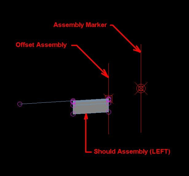 civil4d com » Where you can use Offset Assemblies