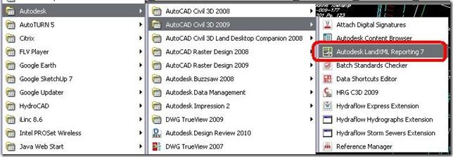 2009.12.21-LandXML Report 7