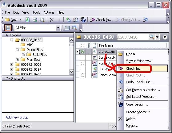 2010.01.09-Check-in XML file